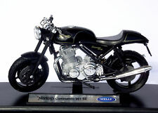 Welly 1:18 Norton Commando 961 SE 1:18 Scale Model Motorcycle High Quality NEW