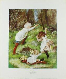 PRINT/MOTHERING SUNDAY/ ANNE GRAHAME JOHNSTONE/31 cms x 38 cms/NEW/ BY ROYALE
