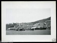 photo ancienne . Corse . Ajaccio . le port . partie nord . 1934