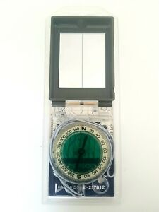 SISTECO FINLAND Compass with Ruler and Mirror (Original Packaging). Suunto Silva