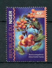 Niger 2017 MNH Hanza Fruit Tree 1v Set Fruits Trees Nature Stamps