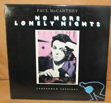 """paul mccartney no more lonely nigths  colombia 12"""" vinyl 44-05077 columbia promo"""