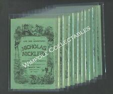 Charles Dickens, Original Covers, 1905, Chapman & Hall, Set 12 Postcards. (4650)