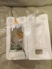 ST. NICHOLAS SQUARE LIGHT-UP CANDLE CHRISTMAS TABLE DECOR (NEW)