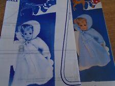 """T2 PATRON POUPEE """"MICHEL BAIGNEUR"""" M & TRAVAUx  NID D'ANGE  1981"""