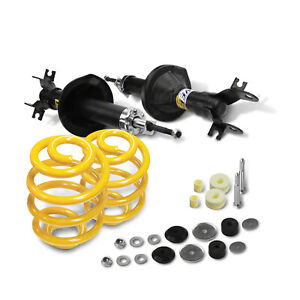 Front Shock Absorbers Lowered King Springs for HOLDEN COLORADO RC 2WD Coil Front