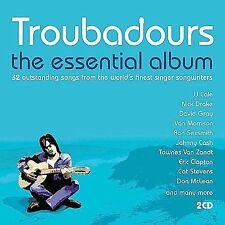 Troubadours: The Essential Album by Various Artists (CD, Apr-2002, Manteca)