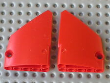 LEGO TECHNIC red panel fairing 13 & 14 / x1979 & x1980 / set 8070 7063 8068 8041