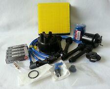 Cap-Rotor-NGK Wires-Spark Plug-PCV- Kit Honda 96-00 Civic EK EX 1.6L