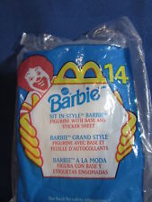 McDonalds 1999 Happy Meal Toy Barbie Sit In Style #14