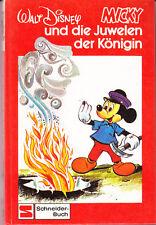 Walt Disney – MICKY und die Juwelen der Königin – Schneider-Buch sehr guter Zust