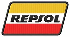 Repsol embroidered iron-on patch