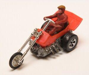 Vintage Original Mattel Redline era Chopcycles Orange Speed Steed - Untested