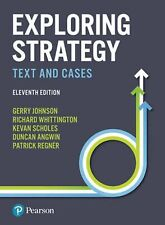 Exploring Strategy Text And Cases 11th Edition Johnson Scholes Wittington
