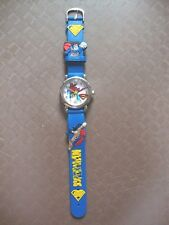 Kid's Superman Analogue (Blue) Silicone Band wrist watch BRAND NEW Style A