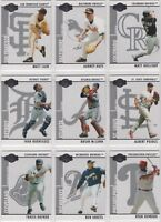 2008 Topps Co-Signers Baseball Team Sets *Pick Your Team*