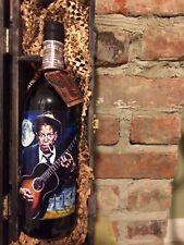 Cigar box guitar Theam  bottle of Merlot wine/Robert Johnson/Delta Blues