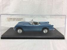1955 Chevy Corvette CONVERTIBLE Model Chevrolet Car blue
