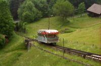 PHOTO  SWITZERLAND BEATENBUCHT 1995 TBB CAR TRAM V2