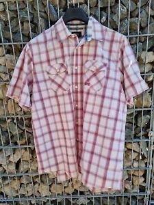 Globetrotter*, Herren Hemd, Gr. XL (43/44),  Kurzarm, Top Zustand Wanderhemd