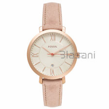 Fossil Original ES3487 Women's Jacqueline Sand Leather Watch 36mm