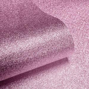Muriva Couture Sparkle Soft Pink Glitter Metallic Textured Wallpaper (601530)