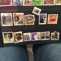 CANADA Lot of 106 recent stamps 63 cents to p stamps era mixture