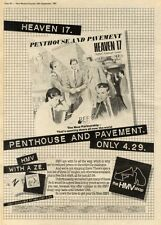 19/9/81PN37 POSTER ADVERT 15X11 PENTHOUSE AND PAVEMENT