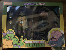 NECA Teenage Mutant Ninja Turtles Donatello VS Krang