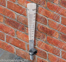 Pluviometro Misura IRRIGAZIONE precipitazioni livello del suolo terreno metrica imperiale U1