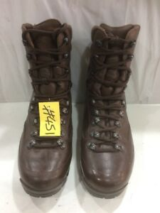 Karrimor Genuine Cold Wet Weather Brown Combat Boots Male UK 7M USED  #451