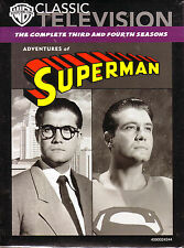 Adventures Of Superman:Seasons 3 & 4. 26 Colour Episodes. Classic 50's TV. New!