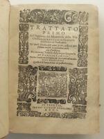 LUIGI GRANATA TRATTATO PRIMO E SECONDO MEDITATIONI MOLTO DEVOTE ANGELIERI 1601