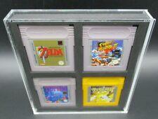 1 x Ninodo Acryl Box Hülle UV Absorptiv Schutzhüllen Für 4 Game Boy Spiele