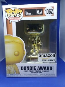 Dundie Award #1062 The Office Amazon Exclusive Funko PoP TV NEW In Hand
