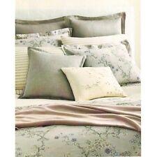 Ralph Lauren King Duvet Cover Madeleine Gray Floral Francoise Collection
