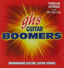 GHS Boomers Electric Guitar Strings GB-12XL 12-String set  9-40