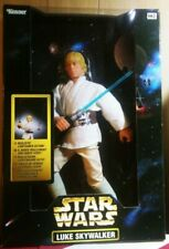 Star Wars Luke Skywalker 12 Inch Doll with Realistic Lightsaber Action! NEW