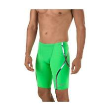 Speedo Men's LZR Racer X Jammer Tech Suit Bright Green    New with Tags Size 21