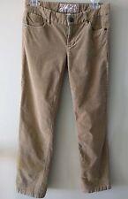 J Crew Bootcut Women's Corduroy Pants, Sz. 27s Tan/Light Khaki