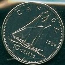 1988-PL Proof-Like Dime 10 Ten Cent '88 Canada/Canadian BU Coin Un-Circulated
