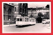 Belgian Tram Photo ~ MIVA Antwerpen 434 - Anvers: Antwerp: 3 Zuid Station: 1958