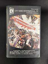 The Poseidon Adventure Ex-Rental Vintage Big Box VHS Tape English dutch subs