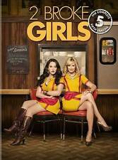 2 Broke Girls ~ The Complete Season 5 Five Fifth Season  Brand New DVD