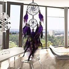 Groß Indianer Federn Feder Traumfänger Dreamcatcher 63cm Wohnzimmer Dekor ka
