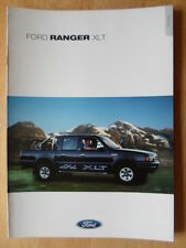 Ford Ranger Xlt 2000 Uk Mkt folleto de ventas