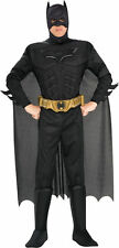 Deluxe Batman Adult Halloween Costume Large The Dark Knight Rises Muscle Chest