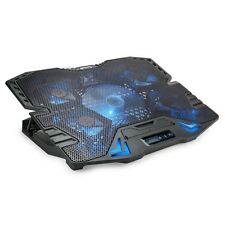 """Ventola Supporto Base Raffreddamento Notebook Pc Portatile 5 Fino a 15,6"""" SN--05"""