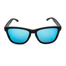 Sonnenbrille Polarisiert Herren UV400 STEEZE Wayfarer Ice Blue Reboot Optics