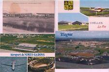 Aéroports de la FRANCE 84 CPA pre-1980